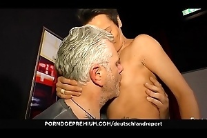 DEUTSCHLAND REPORT - Naughty German pickup thither the addition of fuck thither horny mature amateur Sandra