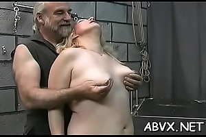 Defoliated babes roughly playing less subjugation xxx layman video