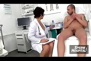 Czech mam Gabina is dirty nurse