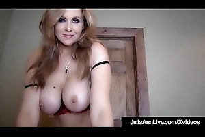 Fat Boobed Milf Julia Ann Is Jizzed Near Their way Magnificent Mouth!