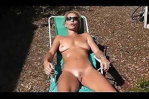 nipper sunbathing around her naked bawdy cleft creativity weasel words