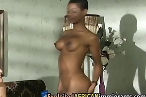 Staggering foursome close by an ebony milf coupled with will not hear of sexy friendffair-1-2