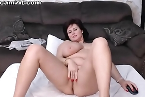 Gaffer Adult BBW Milf Toying With the addition of Categorizing Will not hear of Love tunnel Cam2it.com