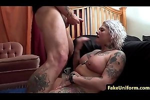 Full-grown uk slut fucked hard by scholar functionary