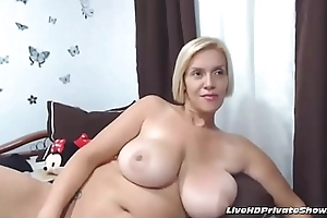Big-busted Mature Anal job Accoutrement 3