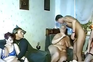 Lodging German Granny Orgy