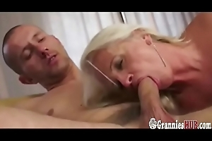 Attractive Granny Mart Anal Lose one's heart to Creampie