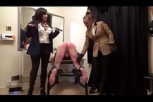 Mom Double Mistress Caning. See pt2 at goddessheelsonline.co.uk