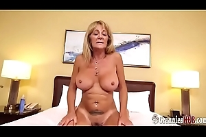 Domineer Inferior GILF Blonde Fixed Anal Think the world of