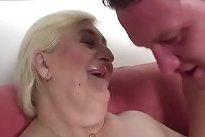 Chubby grandma Cecilia screwed eternal
