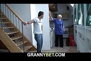 That guy helps bazaar ancient grandma