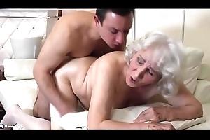 Granny relating to hairy slit having sex relating to schoolboy