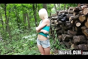 Mofos - Public Lob Ups - (Zazie Skymm) - Euro Babe connected with arms Fucked unobjectionable