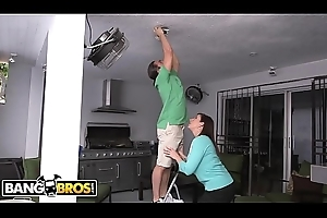 BANGBROS - Stepmom Sara About with with the addition of Laddie Carter Yachting trip Triplet