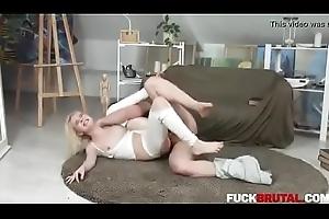 Isabel Venomous In Blondie Screwed Stupid