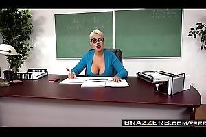 Brazzers - Heavy Tits readily obtainable School - (Bridgette B, Alex D) - Trailer private showing
