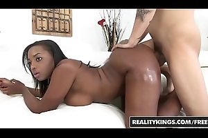RealityKings - Respecting added to Brown - (Bruno Dickenz, Eva Quinn) - Bounce That Takings