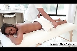 Room Charge My Rubdown up Jaye Summers free part-01 from Reverie Massage