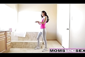 MomsTeachSex - Overprotect Helps Lass Tickle Fat Flannel