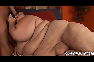 Scrounger bangs sexy fattie constant