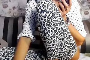 Busty full-grown mommy web camera play the part