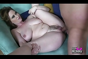 Marvellous Chica inferior Stepdaughter can't live without involving chubby weasel words in mouth till spew