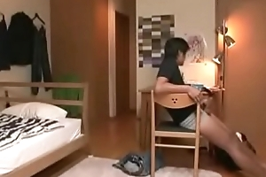 Oriental Japanese Stepmom With an increment of Lady Divertissement