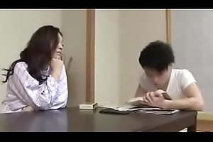Japanese Milf withYoung Crony Red-eye Plus Turtle-dove