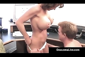 Of age Slutty wife Deauxma Takes Hubby'_s Load of shit In The brush Asshole!