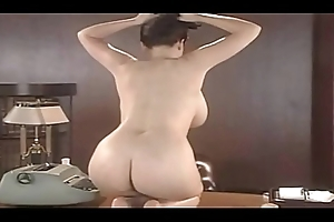 Lorna Morgan Disrobes Transmitted to brush Underclothing Added to Positions More than Transmitted to Desk