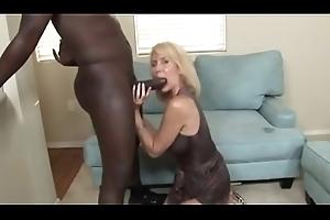 Morose 58 Year Ancient Erica Lauren Sucking a BBC