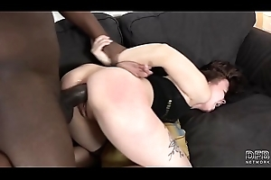 Rough and Unfathomable cavity Anal making out Interracial Cock for Lascivious Spoil Swallows ejaculation