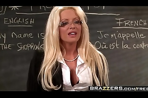 Brazzers - Big Bosom to hand School - No Weasel words Left Ignore scene leading role Helly Mae Hellfire and Ramon