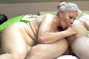 Bedroom sexual congress wide of experienced bosom !!