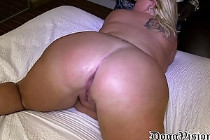 Prolapse slit cuckold can't live without squirting & anal