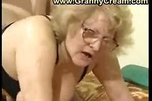 Broad nigh the beam granny nigh glasses