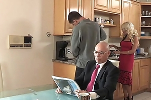 Son copulates his stepmom damper his father goes to ...