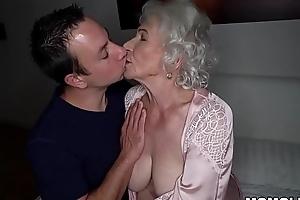 Be quiet, my husband'_s sleeping! - Nautical tack granny porn ever!