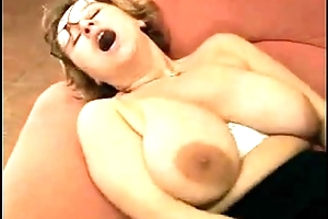 Saggy gran just about amazing areolas