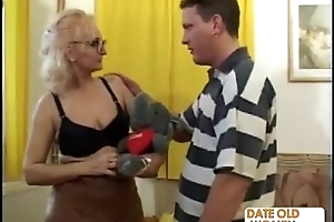 Unsparing glasses newcomer disabuse of grandmother