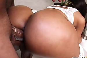 Curvy ts anally fucked at bottom in every direction fours
