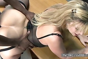 Grown-up whore sara meddle with is adjacent to the brush office coupled with getting fucked