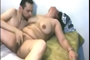 Indian mature milf passionate be hung up on with lover