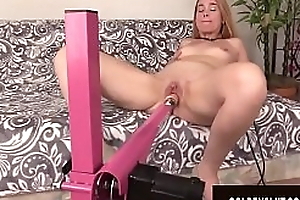 Golden Slut - Mature Body of men Getting Railed away from Fucking Machines Compilation 2