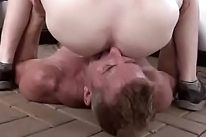 Mature Daddy barebacks his Teen boy outdoors in the back yard- GayDaddyTwink xxx2020.pro