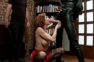 Mix be useful to hot mature gentry in anal servitude