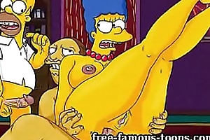 Matured Marge Simpson cheating hentai