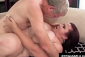 Jeffs Models - Flawless Mature Plumper Lady Lynn Alluring Cock Compilation 3