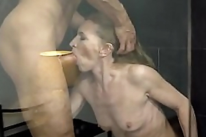 Unshaved Mature Pussy Be full With Fat Dick